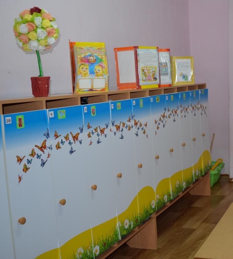 Оформление раздевалки в детском саду по фгос в картинках, днем